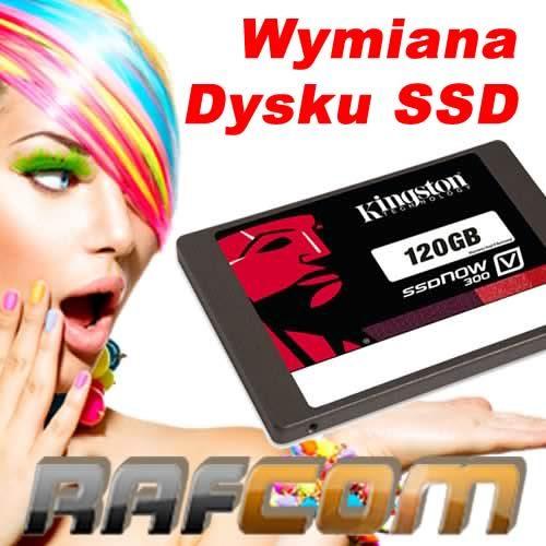 Wymiana Dysku SSD
